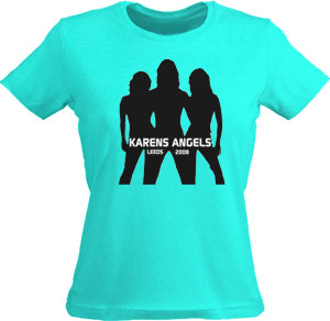 Hen party tshirts (charlies angels)