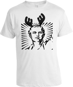 stag do tshirt (the stag)
